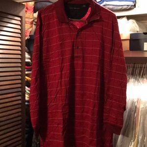 Greg Norman Long Sleeve Polo